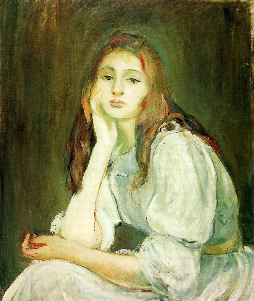 Berthe Morisot - Julie daydreaming