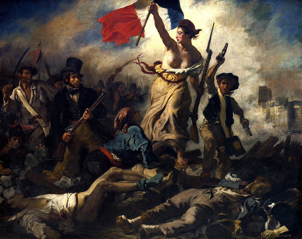 Eugène Delacroix -Liberty Guiding the People2