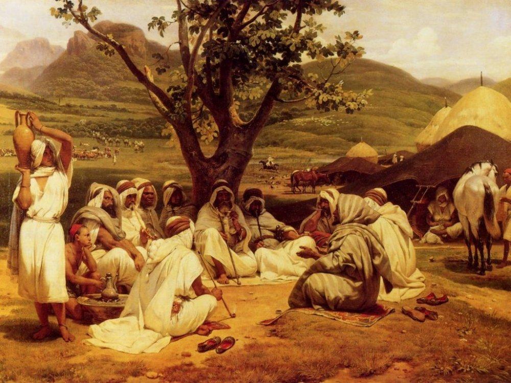 Horace Vernet - The Arab Tale-teller