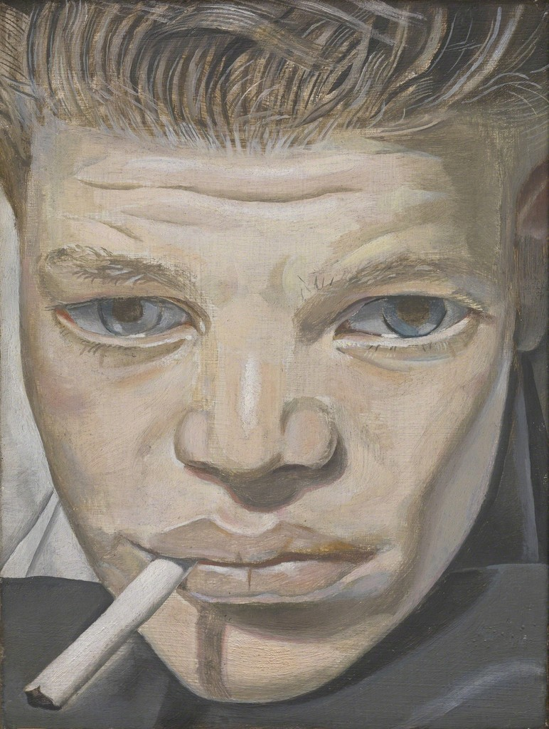 Lucian Freud - Boy smoking