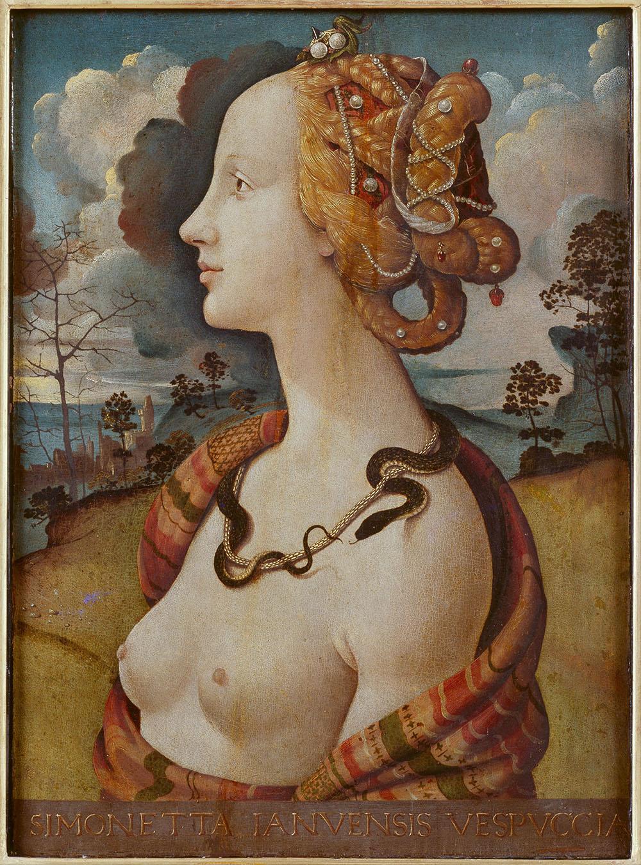 Piero di Cosimo - Portrait of  a Woman, said to be of Simonetta Vespucci