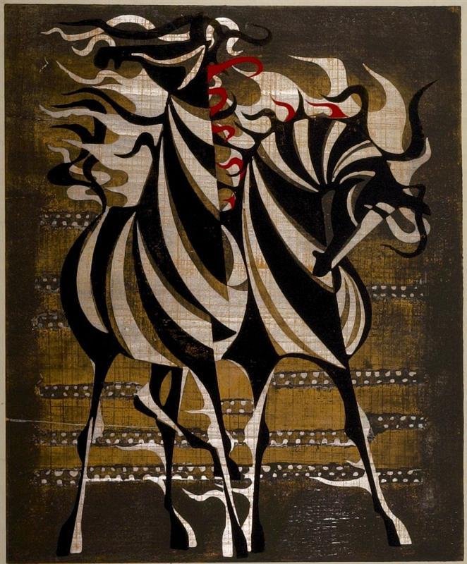 Tadashi Nakayama - Horses in the Afternoon