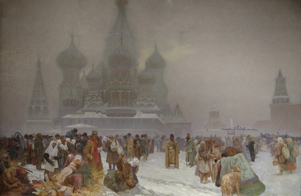 Alfons Mucha - The Abolition of Serfdom in Russia