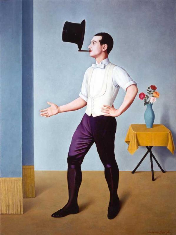 Antonio Donghi - The Juggler (1936)