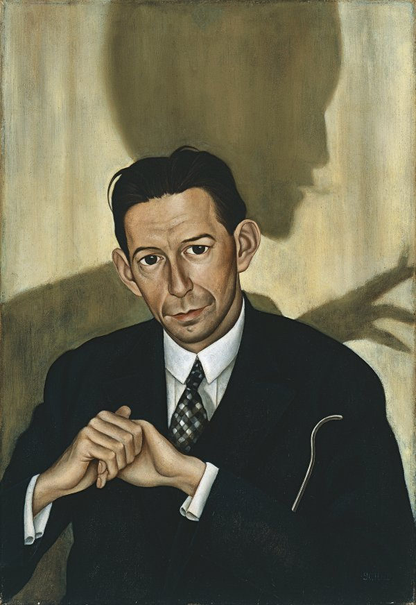 Christian Schad - Portrait of Dr. Haustein