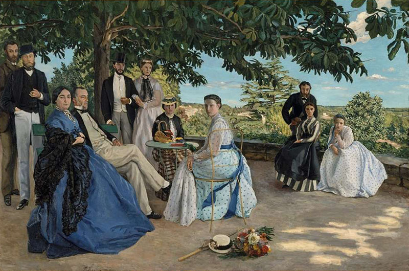 Frédéric Bazille - The Family Gathering