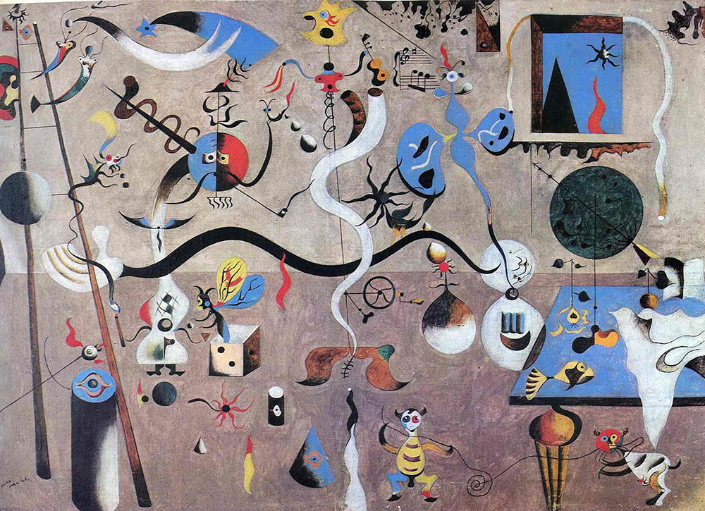 Joan Miro - The Harlequin's Carnival