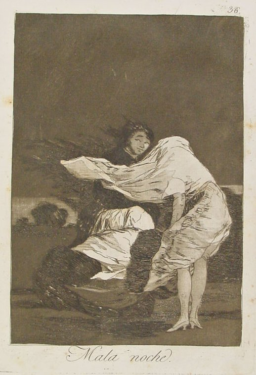 Francisco Goya - A Bad Night