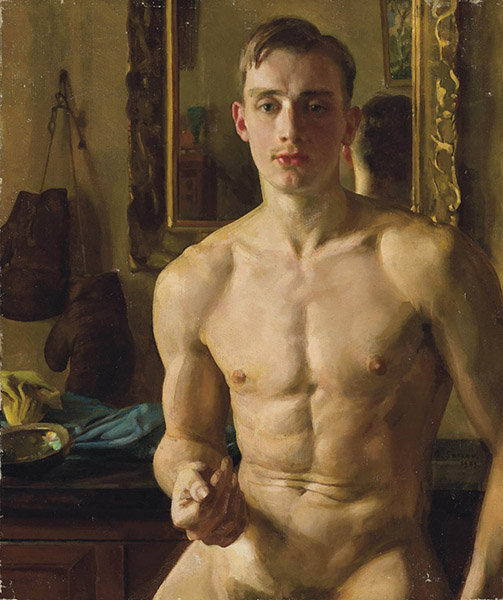 Konstantin Somov - The Boxer