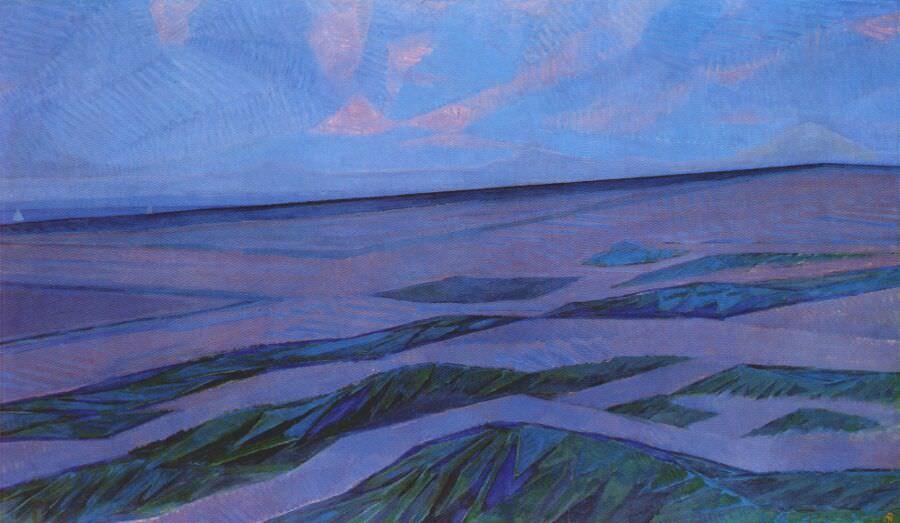Piet Mondrian - Dune Landscape