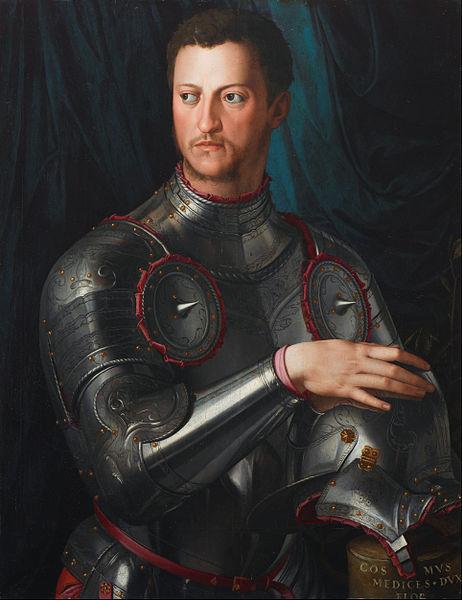 Bronzino - Cosimo I de' Medici in armour