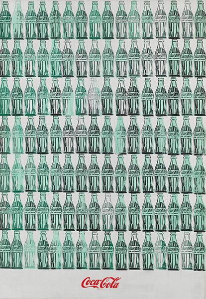 Andy Warhol - Green Coca-Cola Bottles