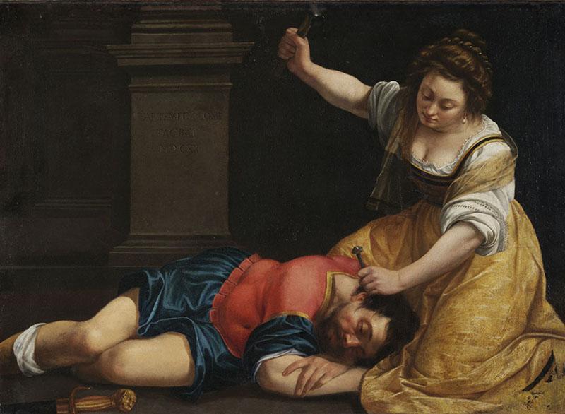 Artemisia Gentileschi - Jael and Sisera