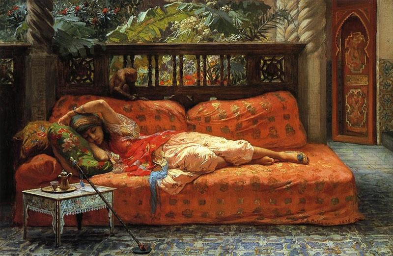 Frederick Arthur Bridgman - The Siesta