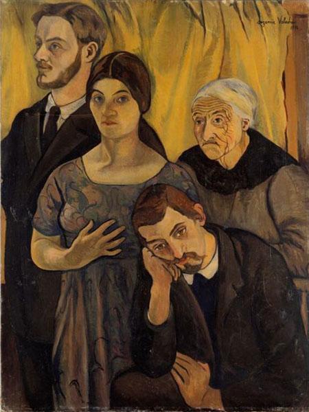 Suzanne Valadon - Family Portrait (1912)