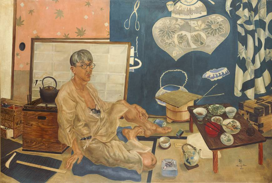 Tsuguharu Foujita - Self portrait (1936)