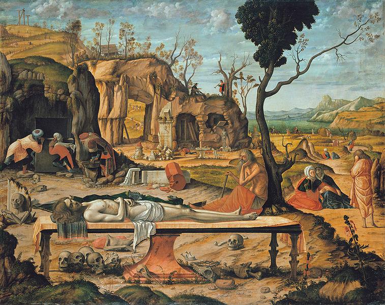 Vittore Carpaccio - Preparation of Christ's Tomb