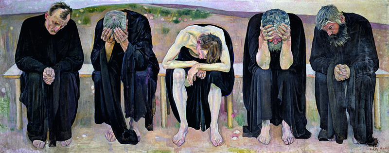 Ferdinand Hodler - The Disappointed Souls