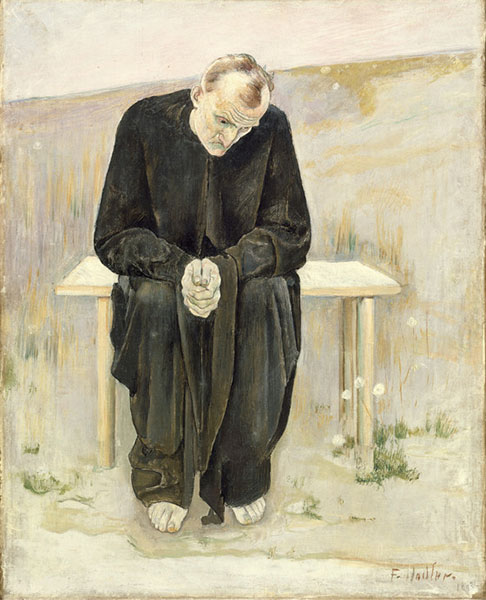 Ferdinand Hodler - The disillusioned one