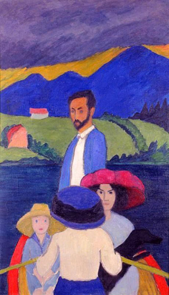 Gabriele Munter - Boating