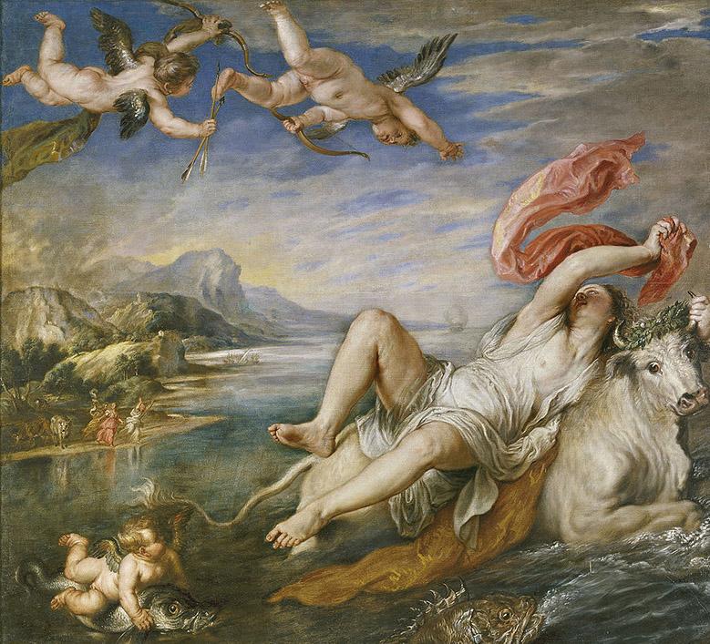 Peter Paul Rubens - The Rape of Europa