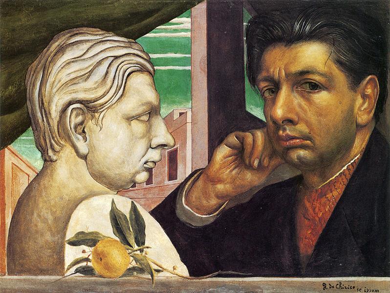 Giorgio de Chirico - Self-portrait (1922)