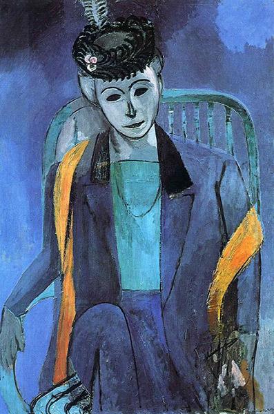 Henri Matisse - Portrait of Madame Matisse