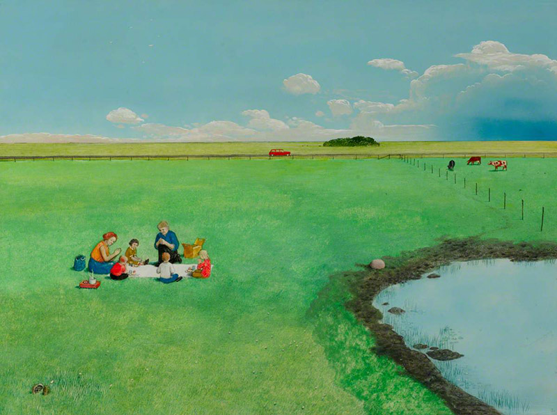 William Kurelek - Out of the Maze