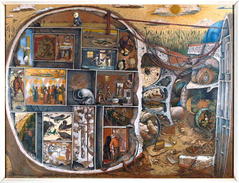 William Kurelek - The Maze