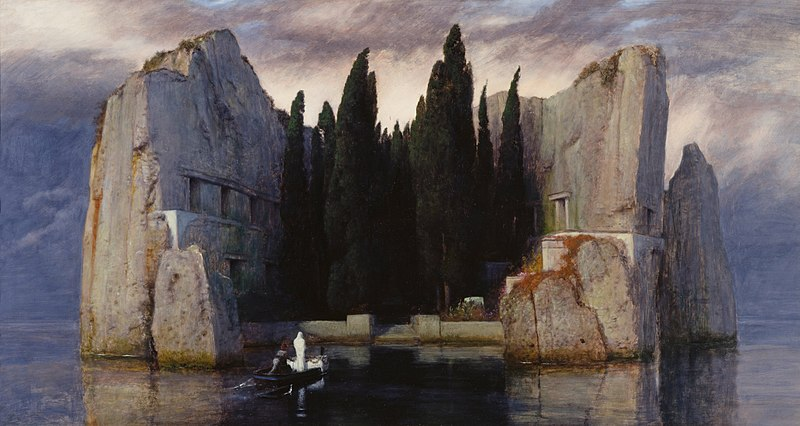Arnold Böcklin - The Isle of the Dead III (1883)