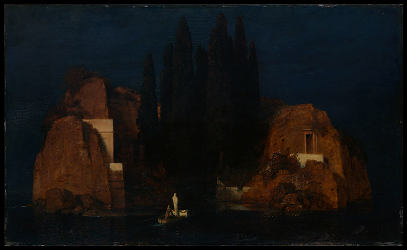 Arnold Bocklin - The Isle of the Dead II (1880)