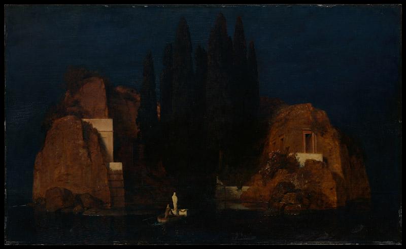 Arnold Bocklin - The Isle of the Dead II (1880)