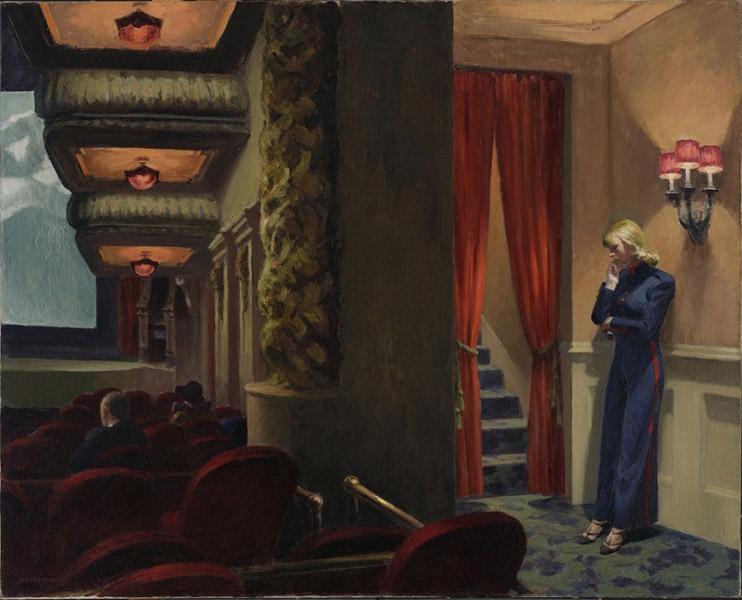 Edward Hopper - New York Movie