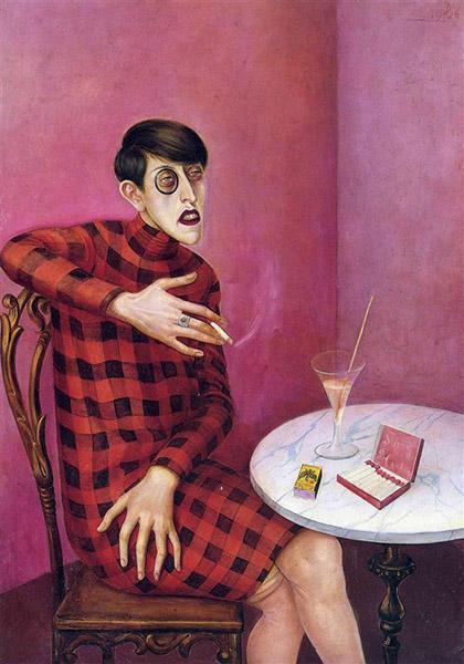 Otto Dix - Portrait of Journalist Sylvia von Harden