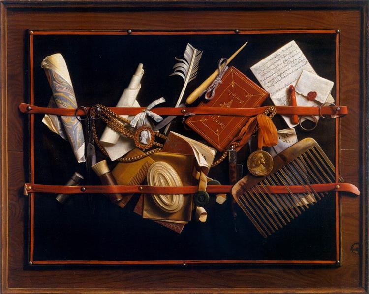 Samuel van Hoogstraten - Letter Board