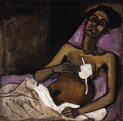 Alice Neel - T. B. Harlem (1940)