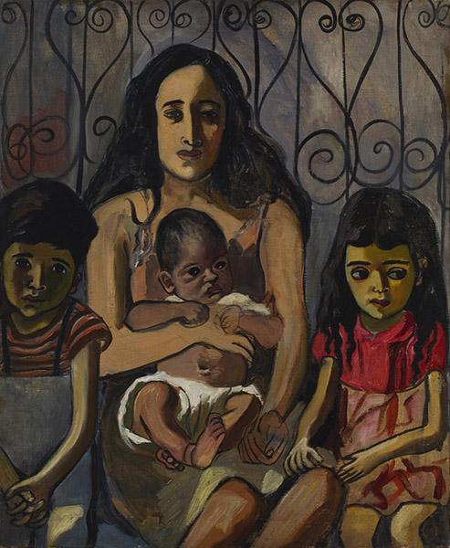 Alice Neel - The Spanish Family (1943)