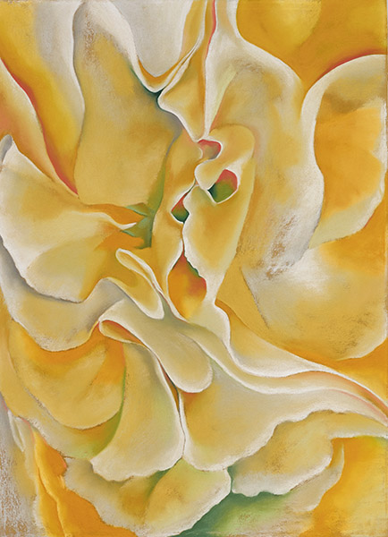 Georgia O'Keeffe - Yellow Sweet Peas