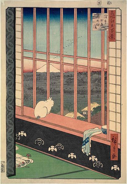 Utagawa Hiroshige - Asakusa Ricefields and Torinomachi Festival