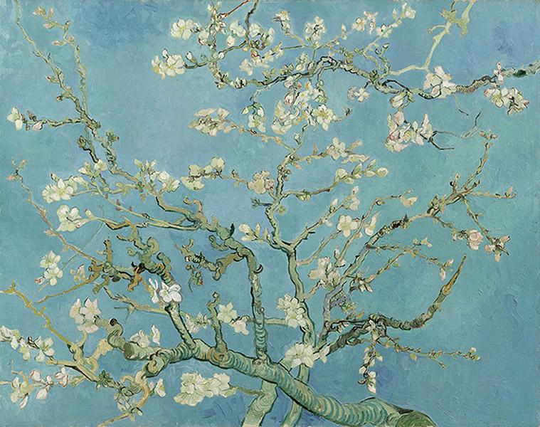 Vincent van Gogh - Almond Blossom (1890)