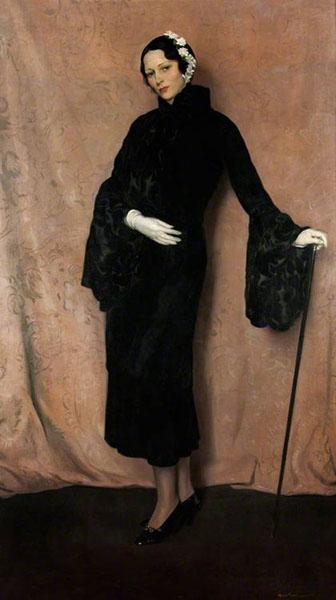 Herbert James Gunn - My Wife (Pauline Miller), c. 1933