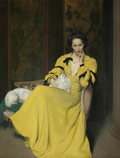 Herbert James Gunn – Pauline in the Yellow Dress (1944)