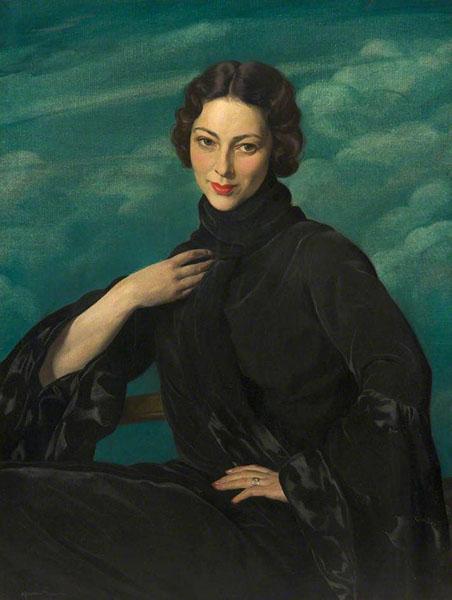 Herbert James Gunn -  Pauline, Wife of the Artist (c. 1930)