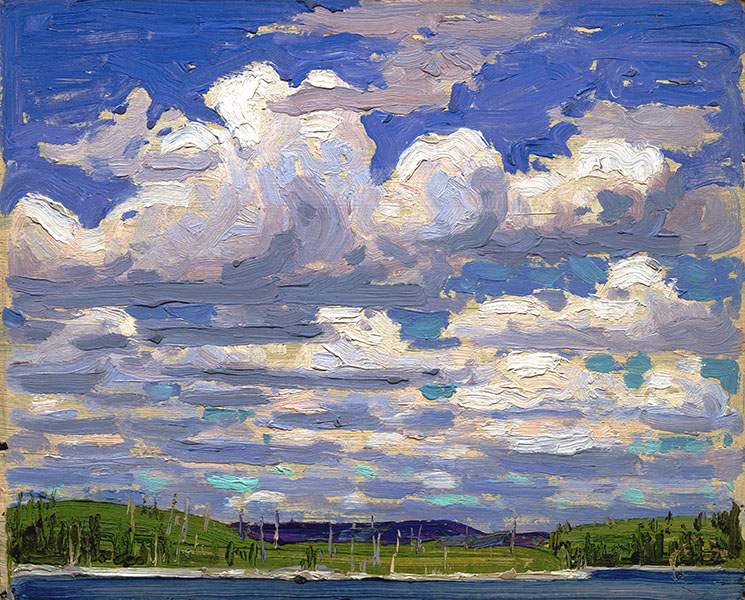Tom Thomson - Summer Day (1915) original