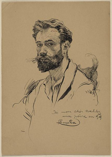 Frantisek Kupka - Self-portrait 1899, RISD Museum