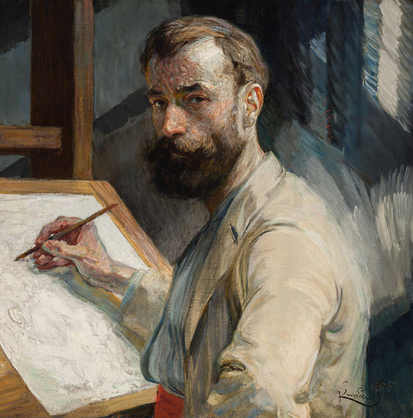 Frantisek Kupka - Self-portrait (1905)