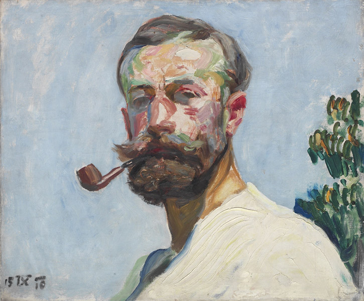 Frantisek Kupka - Self-portrait 1910