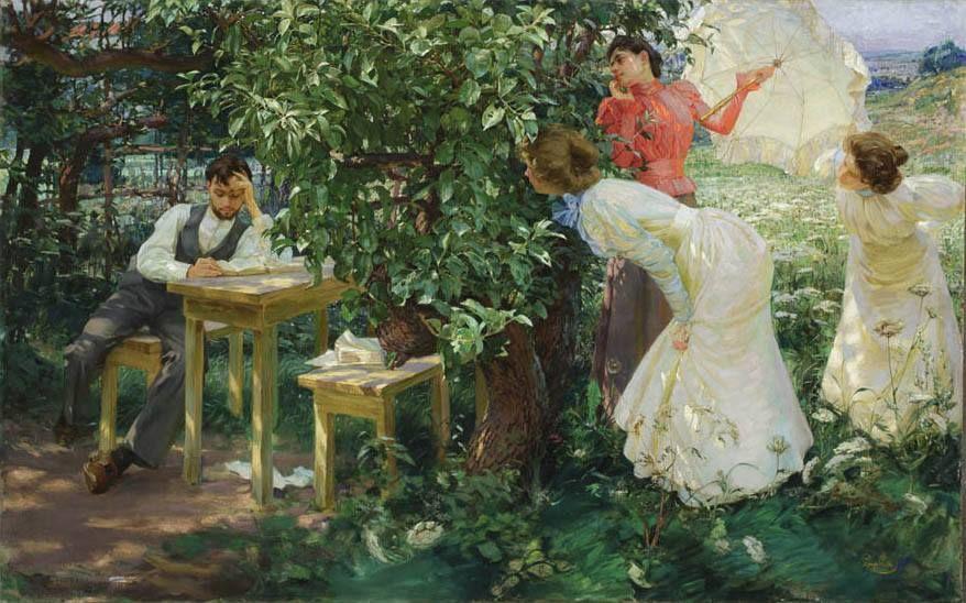 Frantisek Kupka - The Book Lover