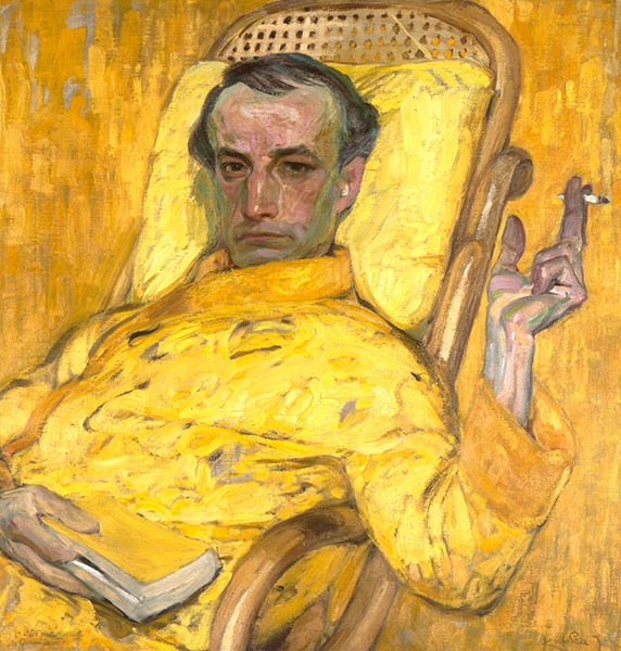 Frantisek Kupka - The Yellow Scale (c. 1907)