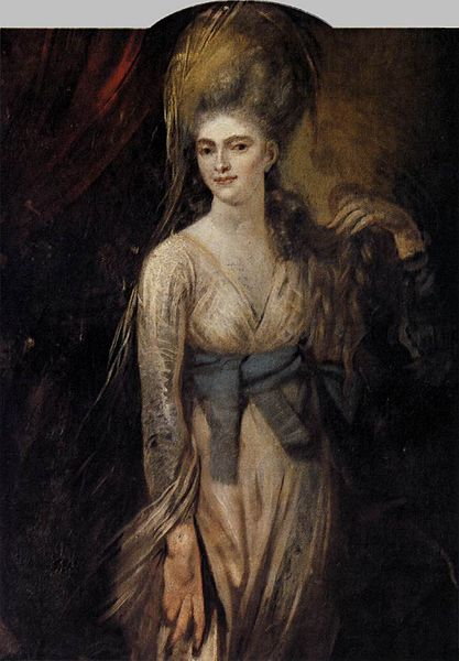 Henry Fuseli - Portrait of a Lady (1781)